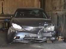 разбитый автомобиль администрации Оренбурга