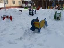 снег Оренбург